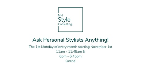 Ask Personal Stylists Anything! tickets