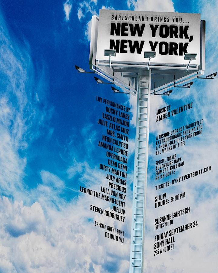 NEW YORK, NEW YORK! image