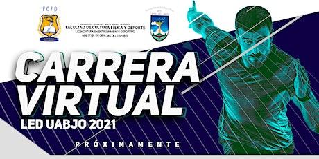Carrera virtual LED UABJO 2021 tickets