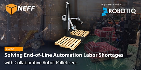 Solving End-of-Line Automation Labor Shortages with Collaborative Robots tickets