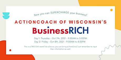BusinessRICH in Milwaukee County tickets
