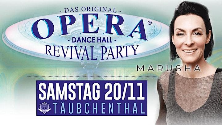 OPERA  - Dancehall Revival Party  w/MARUSHA: Bild