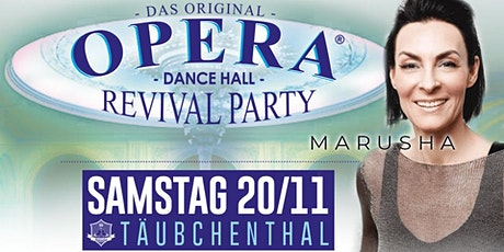 OPERA  - Dancehall Revival Party  w/MARUSHA Tickets