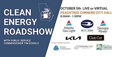 Clean Energy Roadshow - PTC tickets