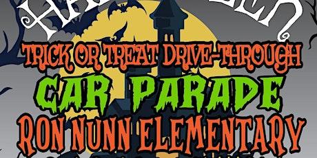 Ron Nunn Elementary's Halloween Trick or Treat Drive-Through Car Parade! tickets