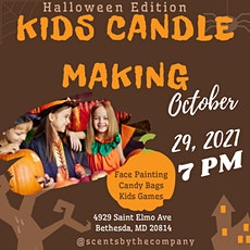 Kids Candle Making - Halloween Edition tickets