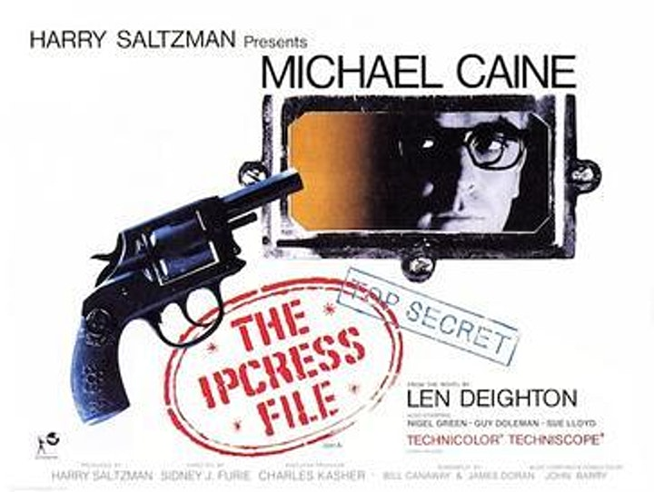 Designing The Movies: THE IPCRESS FILE (1965) image