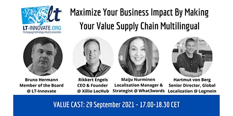 Maximize Business Impact By Making Your Value Supply Chain Multilingual tickets