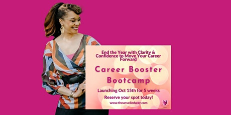Career Booster Bootcamp Group Coaching tickets