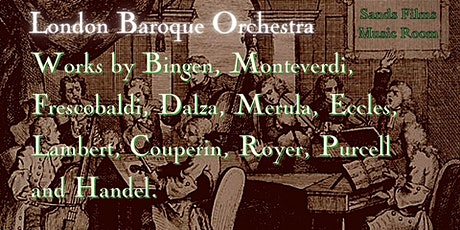 London Baroque Orchestra Christmas Concert(Online access) tickets