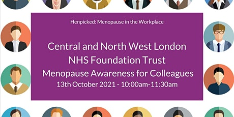 Menopause Awareness Workshop for Colleagues tickets