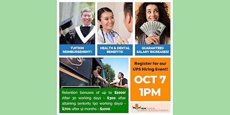 Now Hiring! Paid Vacation, Health Benefits, Bonuses & Tuition Reimbursement tickets