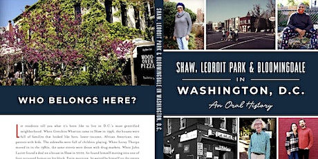 Book Launch Party for Shaw, LeDroit Park and Bloomingdale: An Oral History tickets