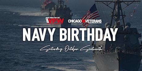 Navy Birthday Celebration tickets
