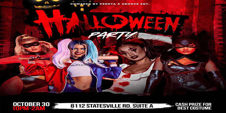 Halloween Party Powered by PerryA x Groove ENT tickets