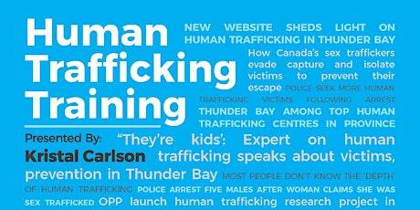 Human Trafficking Training tickets