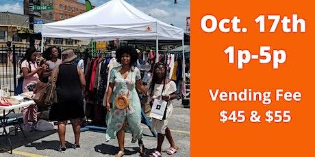 Sassy's Evanston Black Vendor Market - October tickets