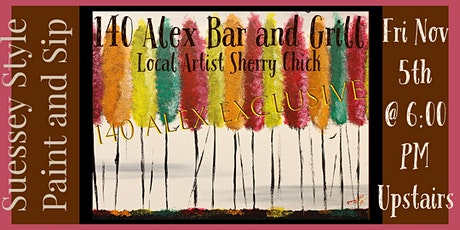 Suessey Style Paint and Sip 140 Alex Exlcusive tickets