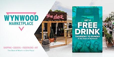 FREE Drink at Wynwood Marketplace entradas