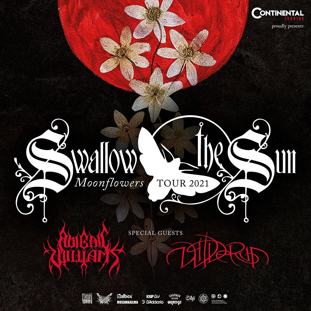 Swallow the Sun, Abigail Williams, and Wilderun in Orlando at the Haven