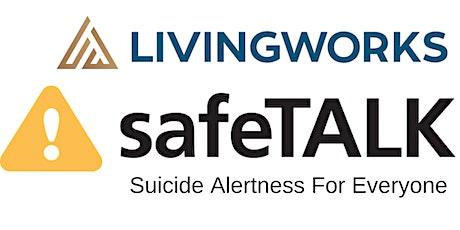 safeTALK: Suicide Alertness Training tickets