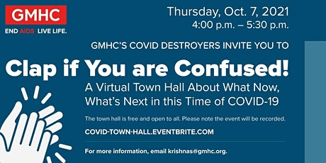 COVID Destroyers Town hall meeting tickets