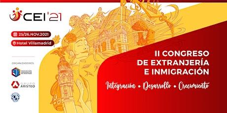 II Congreso de Extranjería e Inmigración #CEI2021 entradas