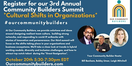 Our Community Builders Summit tickets