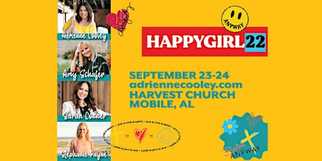 Happy Girl 22 Conference tickets