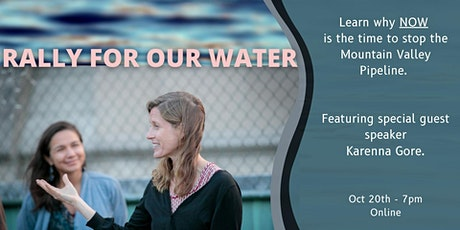 Webinar: Rally for Our Water, Stop MVP tickets