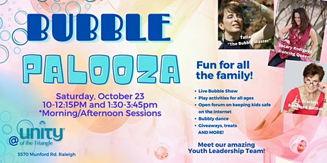 Bubble Palooza - Fall Fun Event For the Kid in All of Us tickets