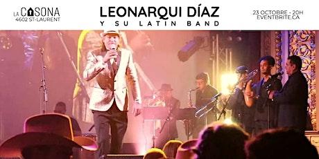 Leonarqui Díaz y su Latin Band billets