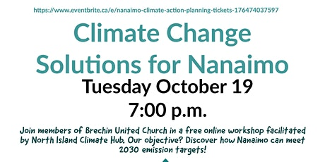 Nanaimo Climate Action Planning tickets