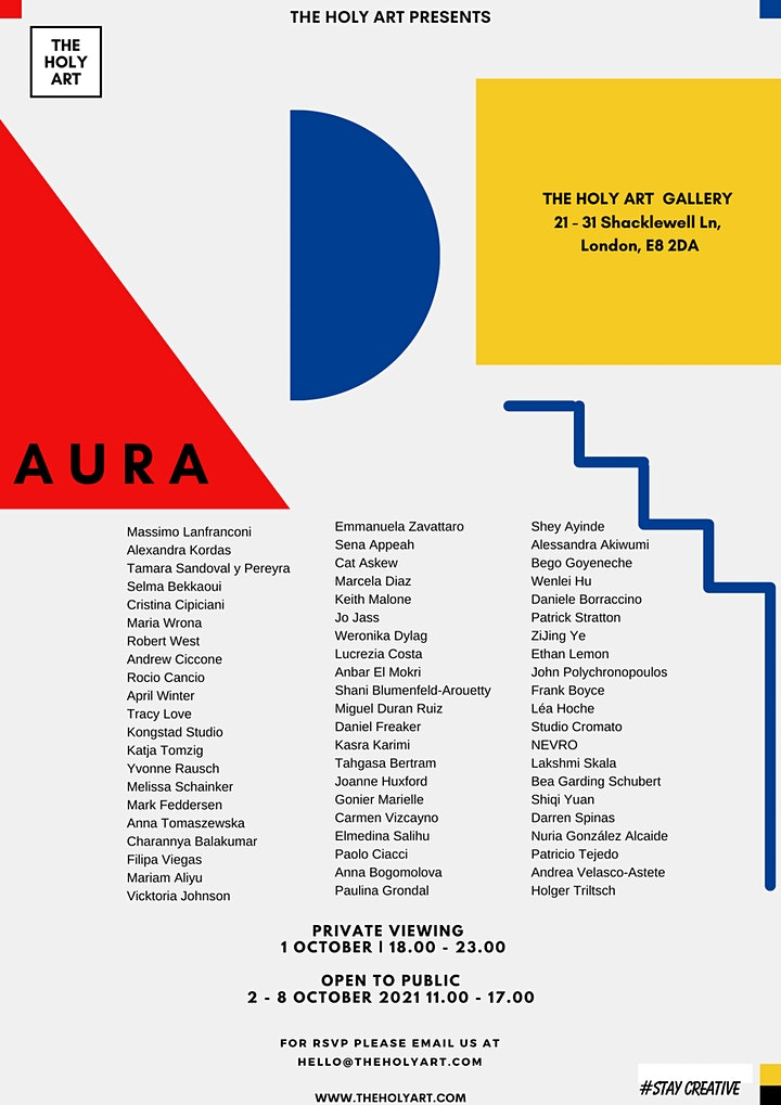 AURA  - Physical Exhibition in London image