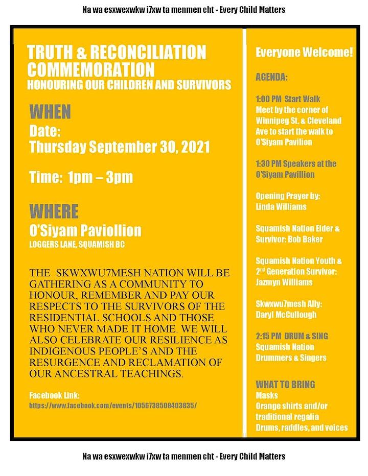 Truth & Reconciliation Commemoration image