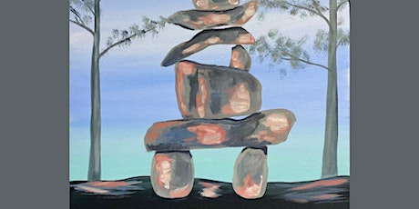Paint Night in Rockland - Inukshuk at G.A.B.'s tickets