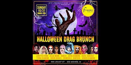 Fresko's Halloween Drag Brunch (1PM seating) tickets