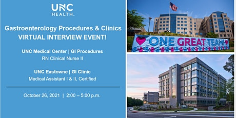 Gastroenterology Procedures & Clinic Virtual Hiring Event! (10/26) tickets
