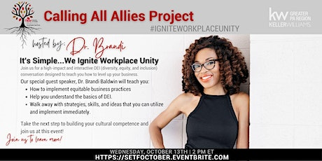 Calling All Allies Project with Dr. Brandi tickets