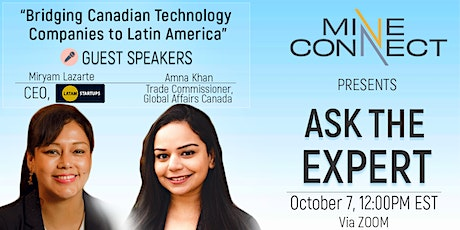 Ask the Expert: Bridging Canadian Technology  Companies to Latin America tickets