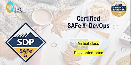 SAFe DevOps 5.1 - Remote class tickets