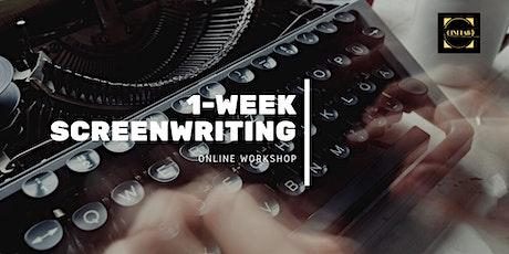 1-week Screenwriting Workshop tickets