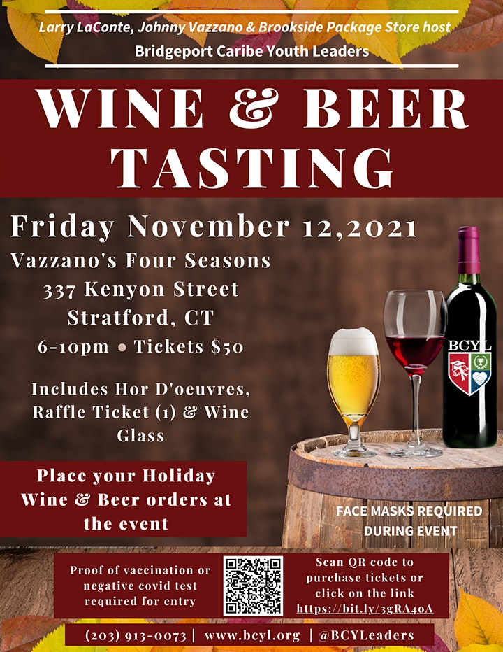 2021 Wine & Beer Tasting Fundraiser image