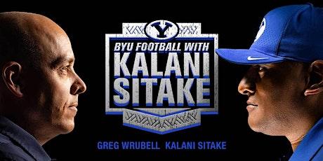 BYU Football with Kalani Sitake tickets
