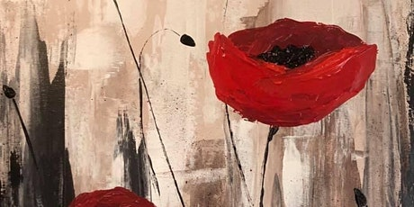 Paint Night in Rockland - Poppies at G.A.B.'s tickets