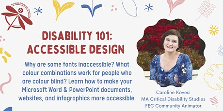 Disability 101: Accessible Design tickets
