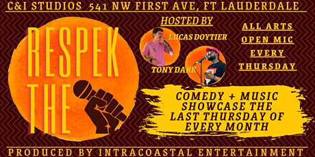 Respek The Mic Comedy & Music Show tickets