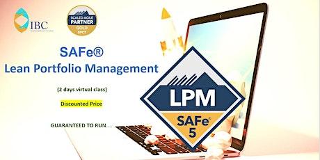 Lean Portfolio Management (5.1) EST- Remote class tickets