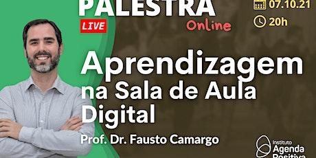 Palestra Online: Aprendizagem na Sala de Aula Digital ingressos