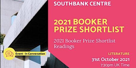 2021 Booker Prize Shortlist - Live Event tickets